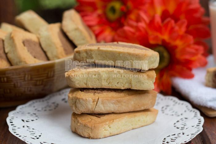 готовое простое печенье, рецепт с фото