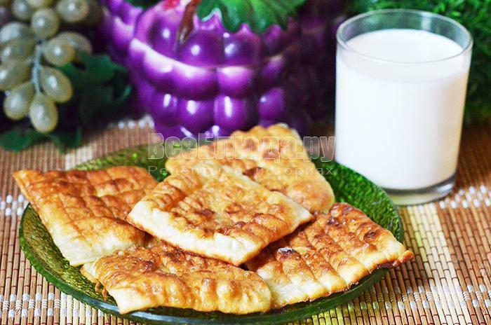 рецепт пышек в молочной глазури
