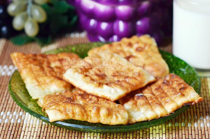 рецепт пышек на кефирном тесте