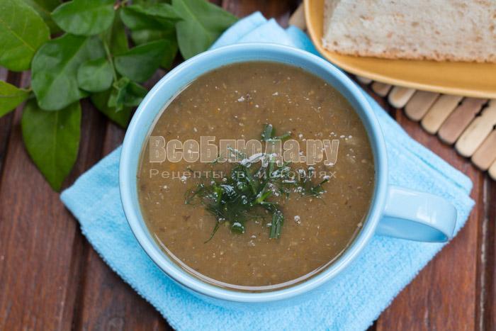 как приготовить диетический суп с баклажанами и овощами