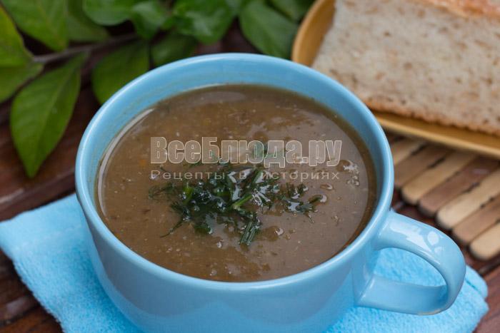 Суп пюре с баклажанами и овощами - диетический рецепт