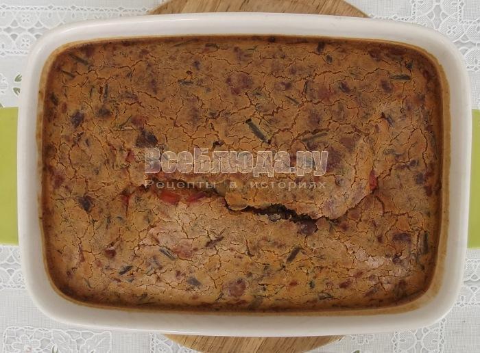 запекать печеночный пирог в духовке