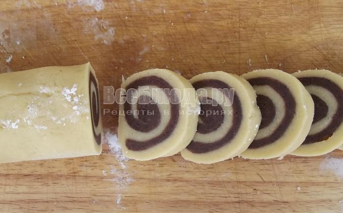 Печенье Спиральки, просто и вкусно