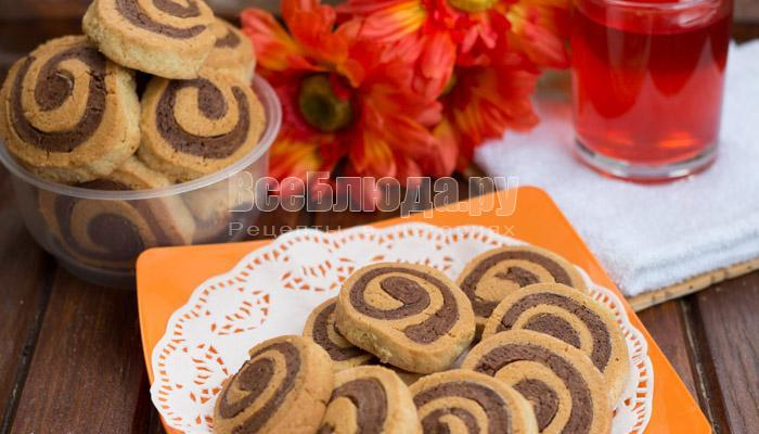 рецепт печенья спираль