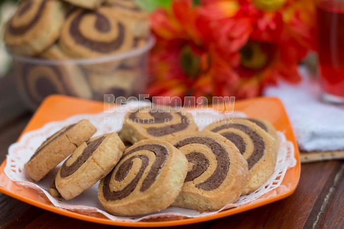 как приготовить печенье спиральки
