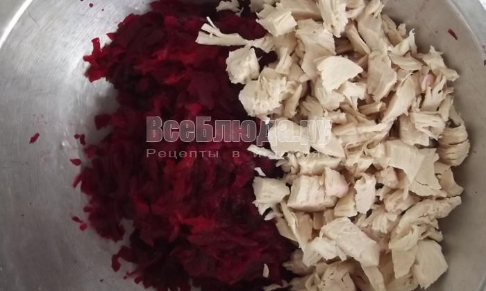 порезать куриную грудку