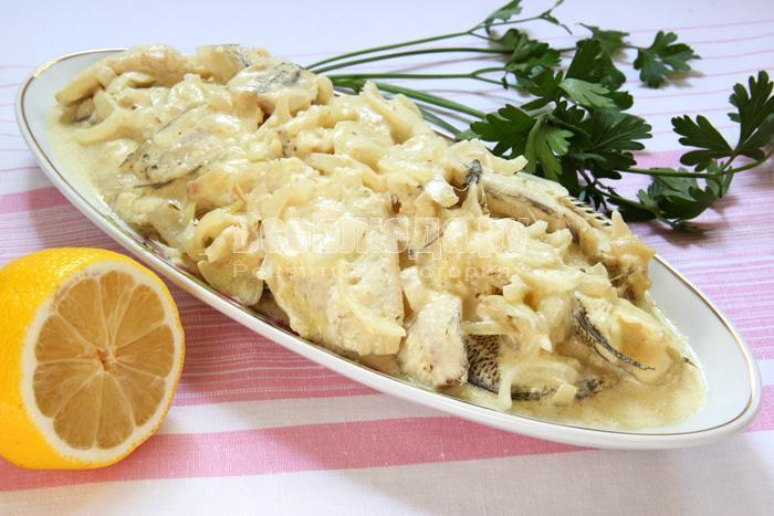рецепт рыбы в майонезном маринаде