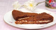 Торт Негритенок со сметанным кремом