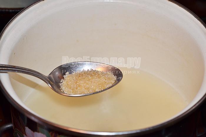 добавьте желатин в бульон