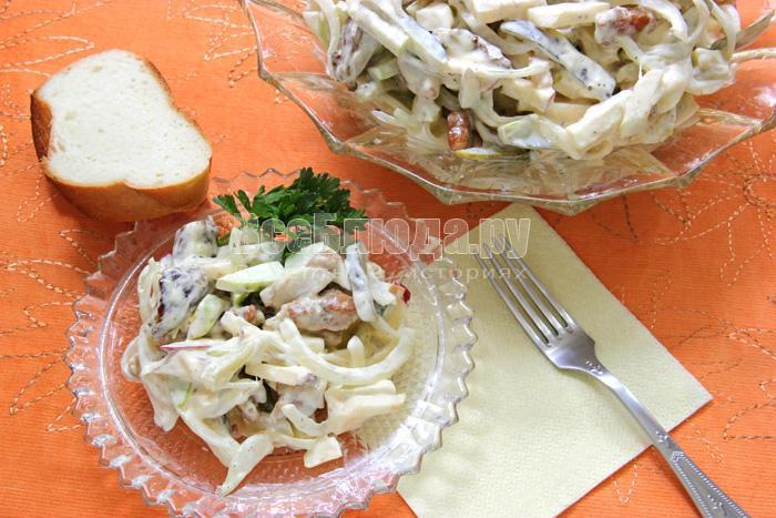 рецепт пражского салата с фото
