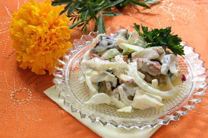 пражский салат со свининой