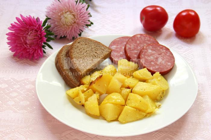 рецепт приготовления картошки в рукаве