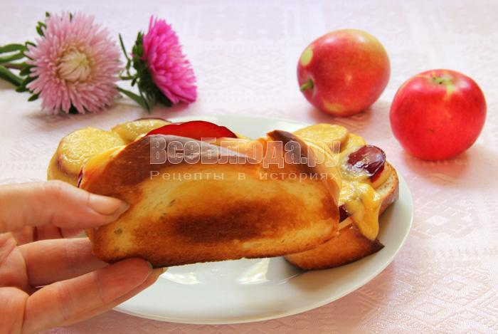 фруктовые бутерброды