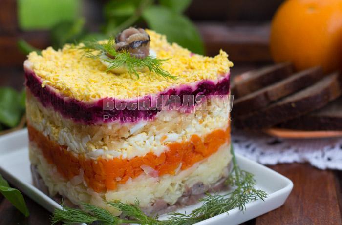 рецепты салатов на скорую руку из свеклы