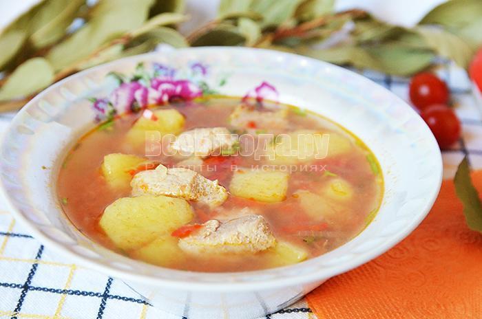 рецепт красного соуса с мясом