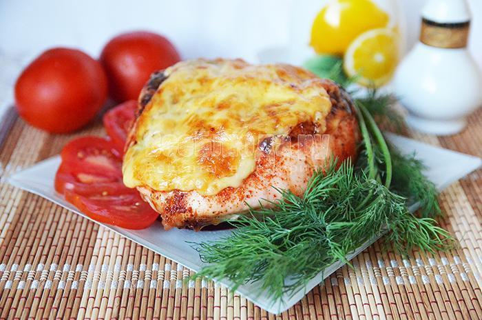 как приготовить куриную грудку с ананасами, рецепт с фото