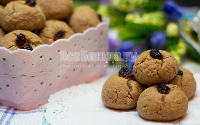 песочное печеное с какао на скорую руку