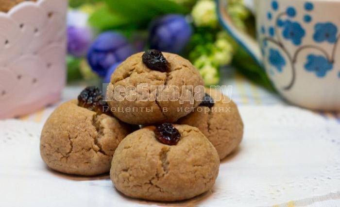 рецепт с фото песочного печенья