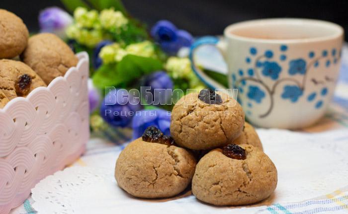 Песочное печенье на скорую руку с какао