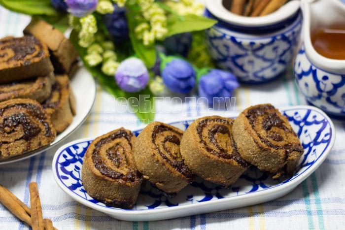 рецепт ржаного печенья с фото