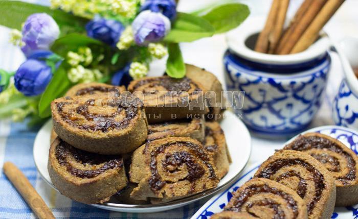как приготовить ржаное печенье