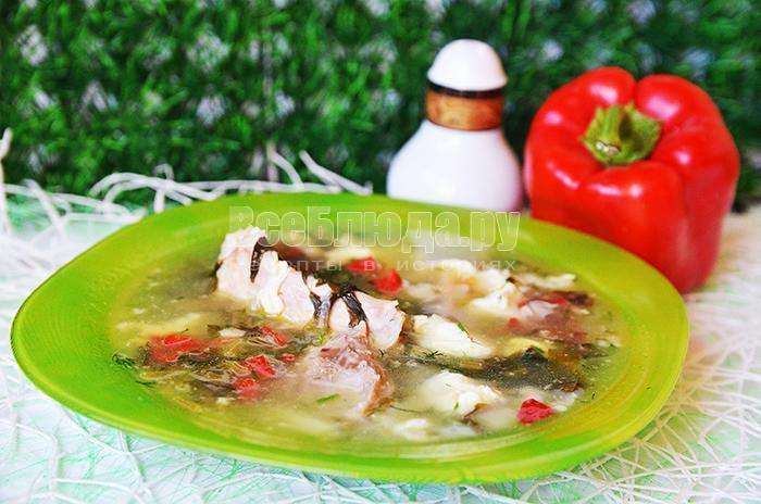рецепт вкусного зеленого борща с щавелем