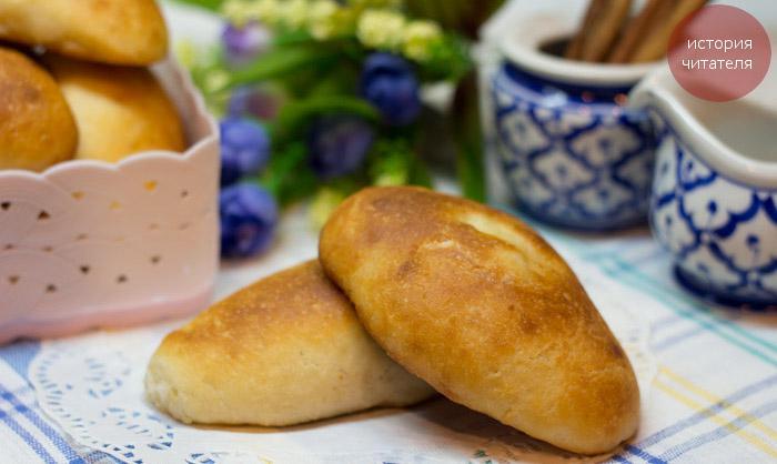 Пирожки, которые не черствеют, тесто Попутчица