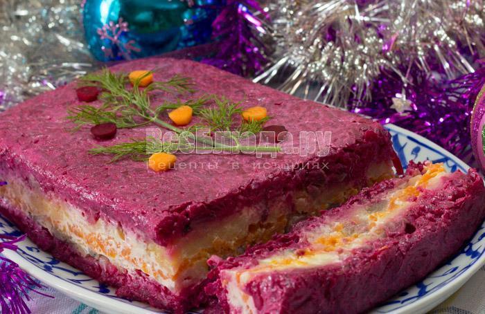 салат на новый год селедка под шубой