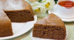 Фантастический кекс к чаю, очень простой и вкусный рецепт на скорую руку