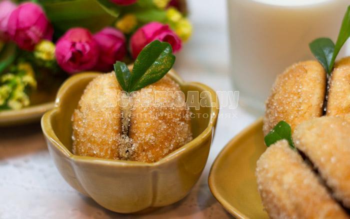 Печенье Персики - просто и вкусно