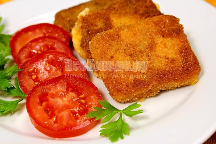 рецепт жареного сыра в панировке