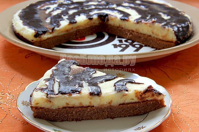 Рецепт торта Птичье молоко с манкой