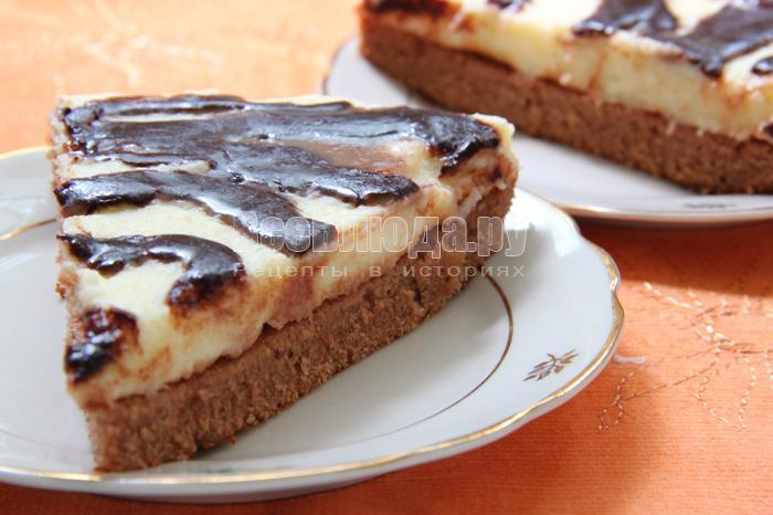 кусочек торта Птичье молоко