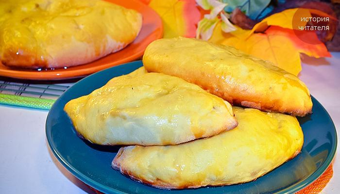 Рецепт пирожков с яблоками в духовке для папы