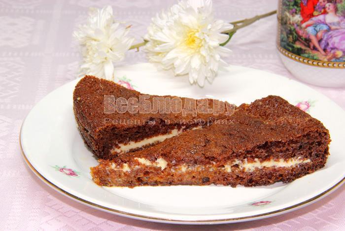 рецепт торта Негритенок
