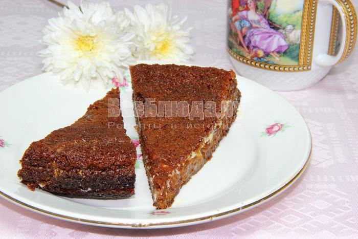 торт Негритенок со сметаной