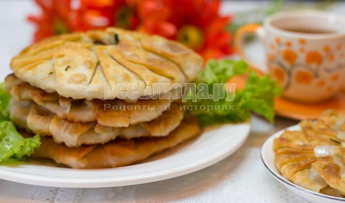 рецепт картофельных лепешек - паланицы