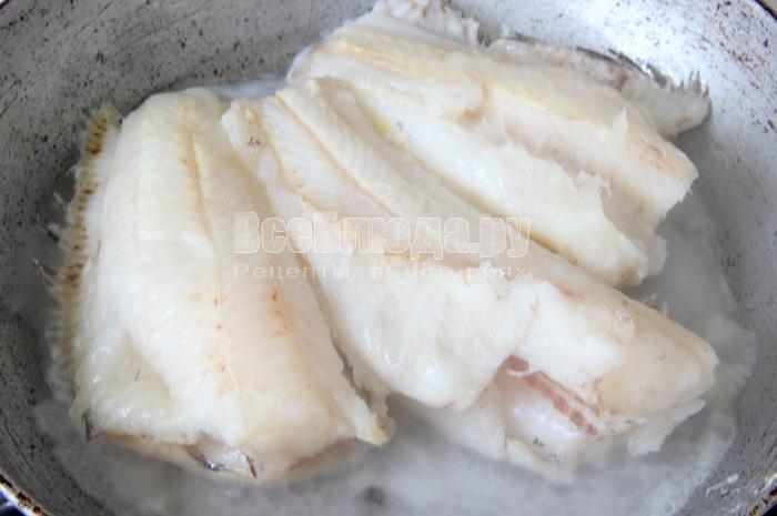 жарю рыбу