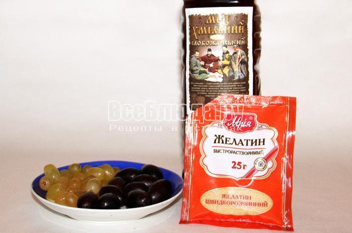 готовим ингредиенты для алкогольного желе