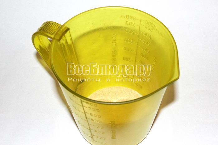вскипять воду и залить желатин
