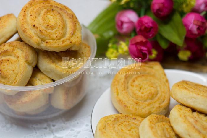 печенье из творога с фото
