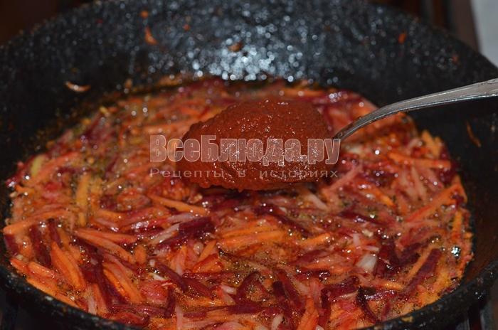 добавьте томат