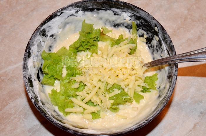 высыпите сыр