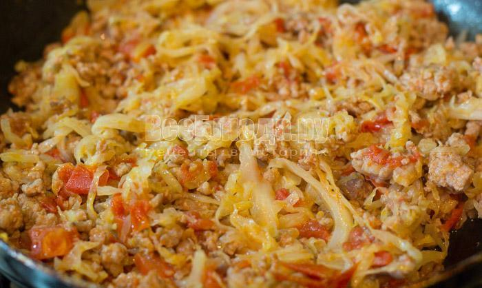 готовая капустная начинка для пирога