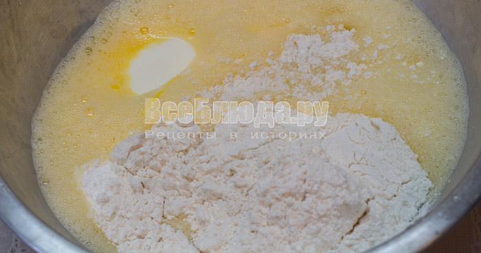 Вкусный пирог с капустой в мультиварке и в духовке