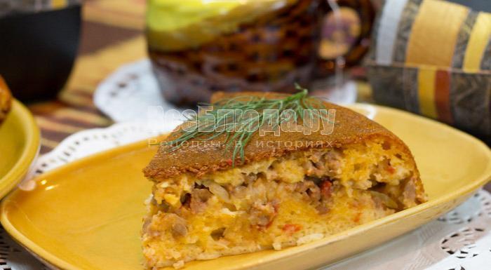 как приготовить капустный пирог в мультиварке