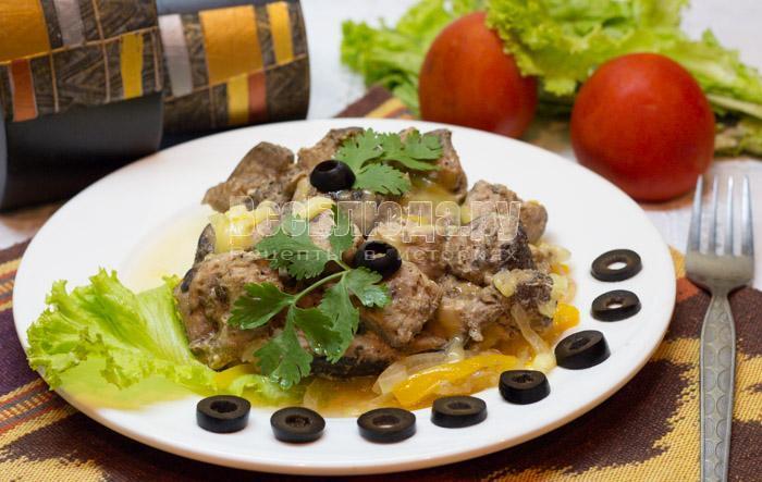 рецепт запеченного тунца в духовке