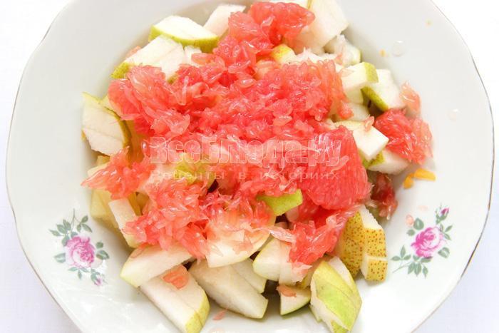 цитрус - в салат