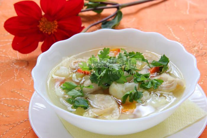 рецепт супа из куриных шкурок