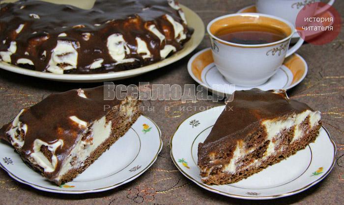 рецепт торта графские развалины с фото